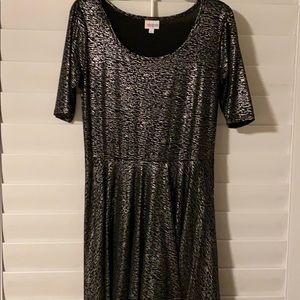 Limited edition Lularoe Nicole Holiday dress